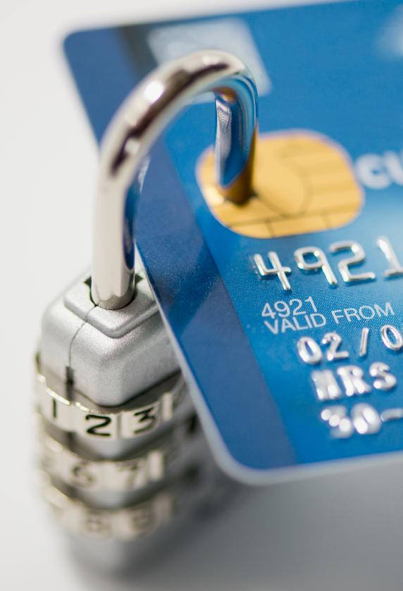 credit card lock
